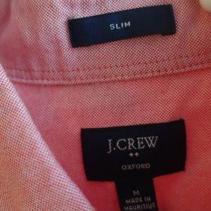 J Crew Slim Fit Oxford